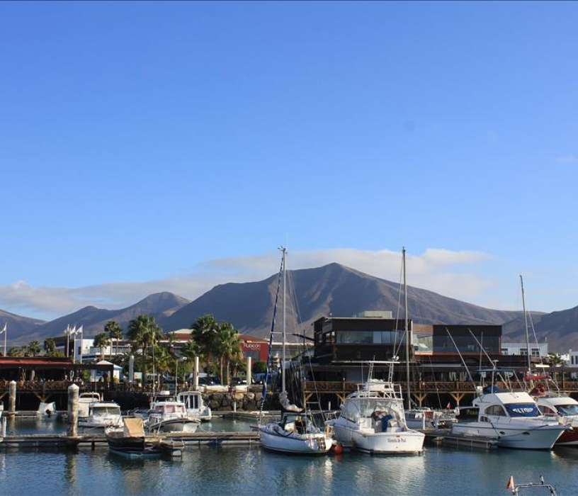 Marina Rubicon in Playa Blanca