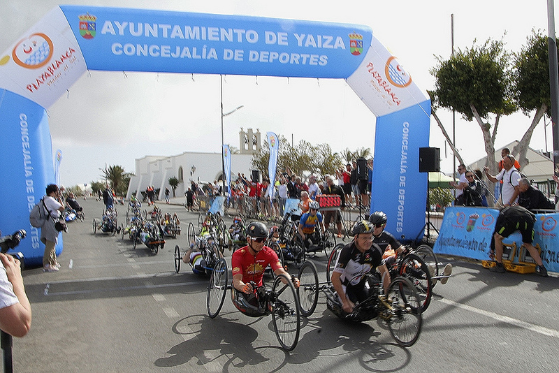 Playa Blanca Hand Bike Event
