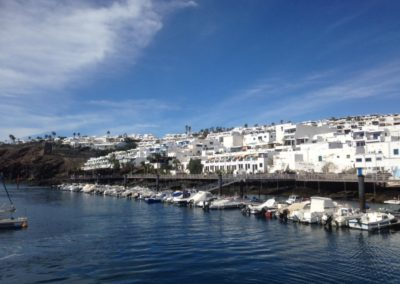 Puerto Del Carmen Old Town And Harbour