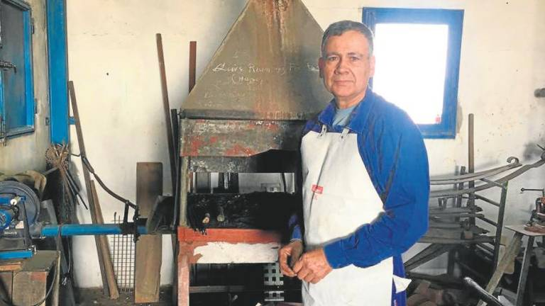 The Last Blacksmith in Lanzarote