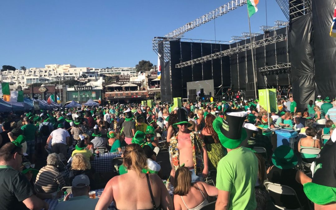 St Patricks Day in Lanzarote