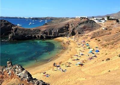 Papagayo beaches Playa Blanca