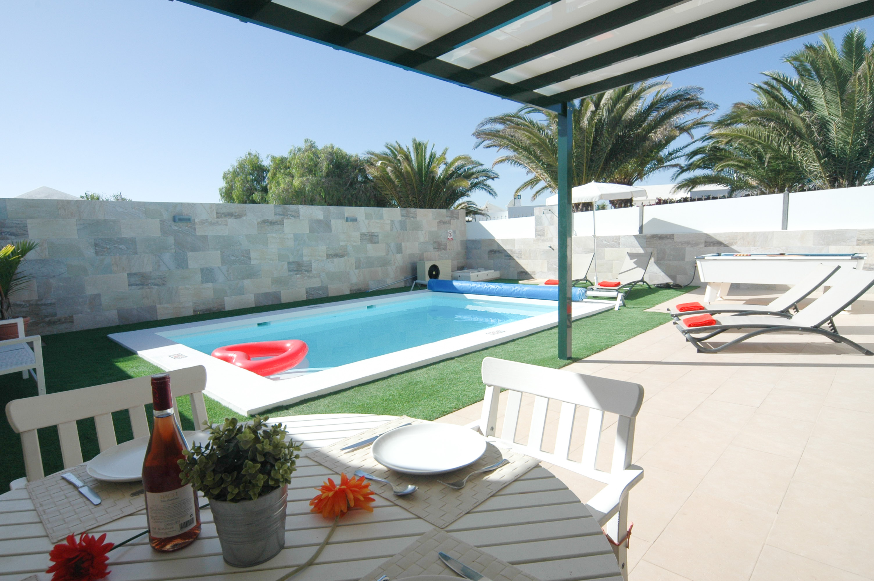 Lanzarote Holiday Villa in Matagorda for rent - 2 bedrooms