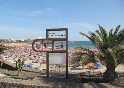 Las Cucharas beach in Costa Teguise