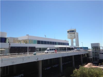 Arrecife airport Lanzarote