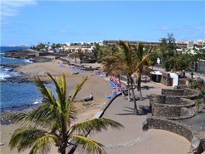 Playa Bastian Beach Costa Teguise