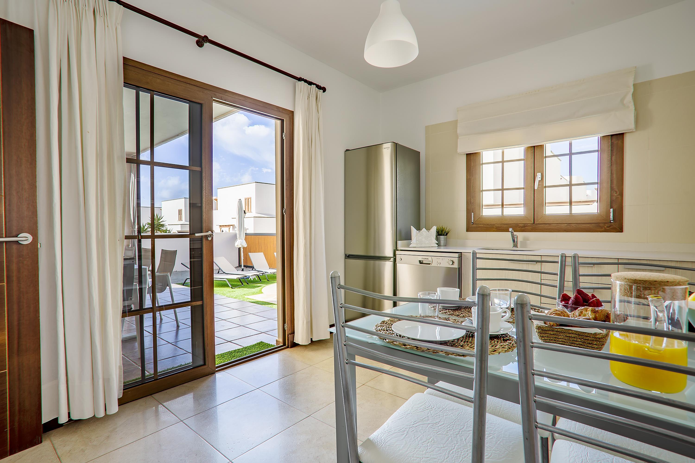 Patio doors to terrace