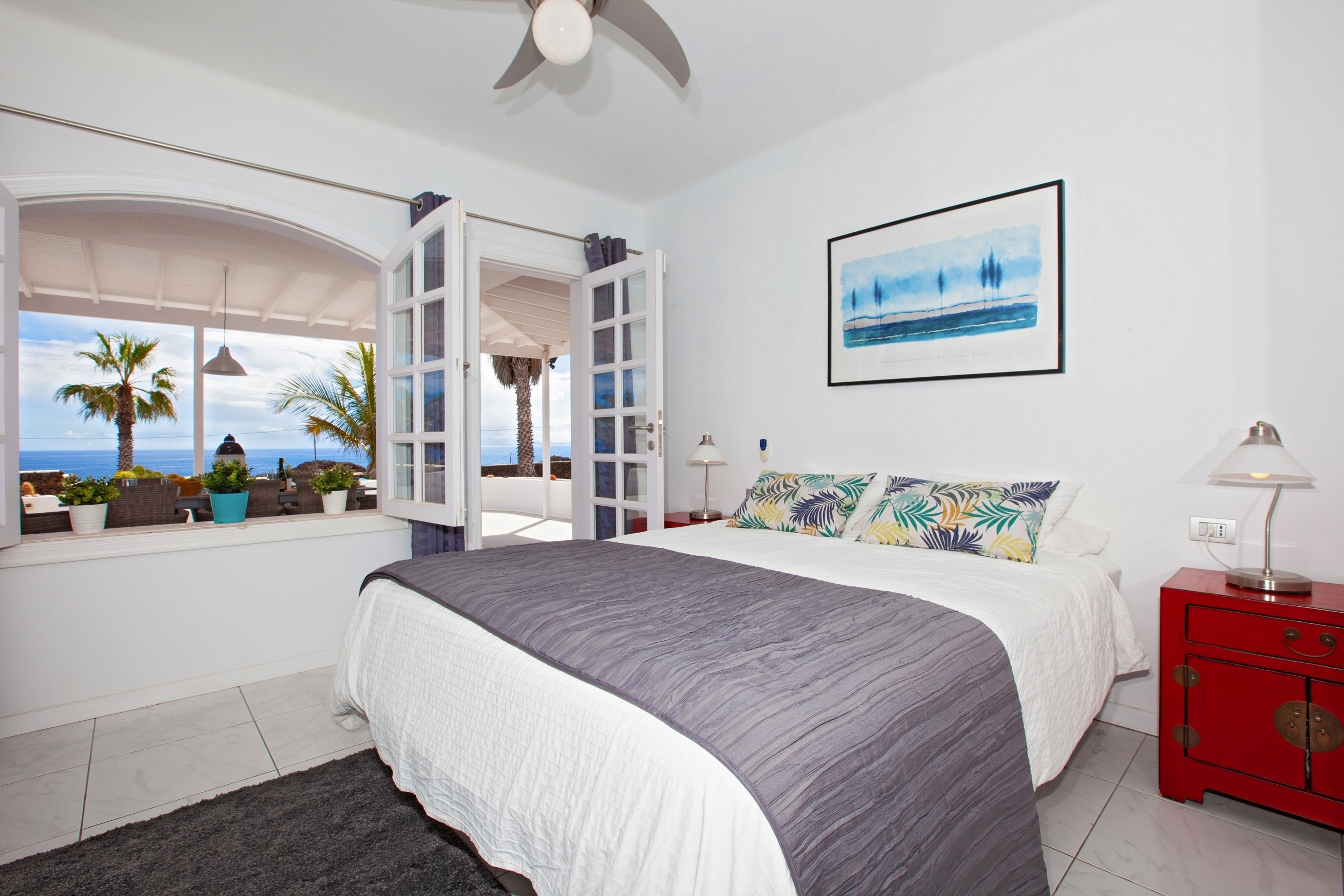 LVC198416 Double bedroom with sea views
