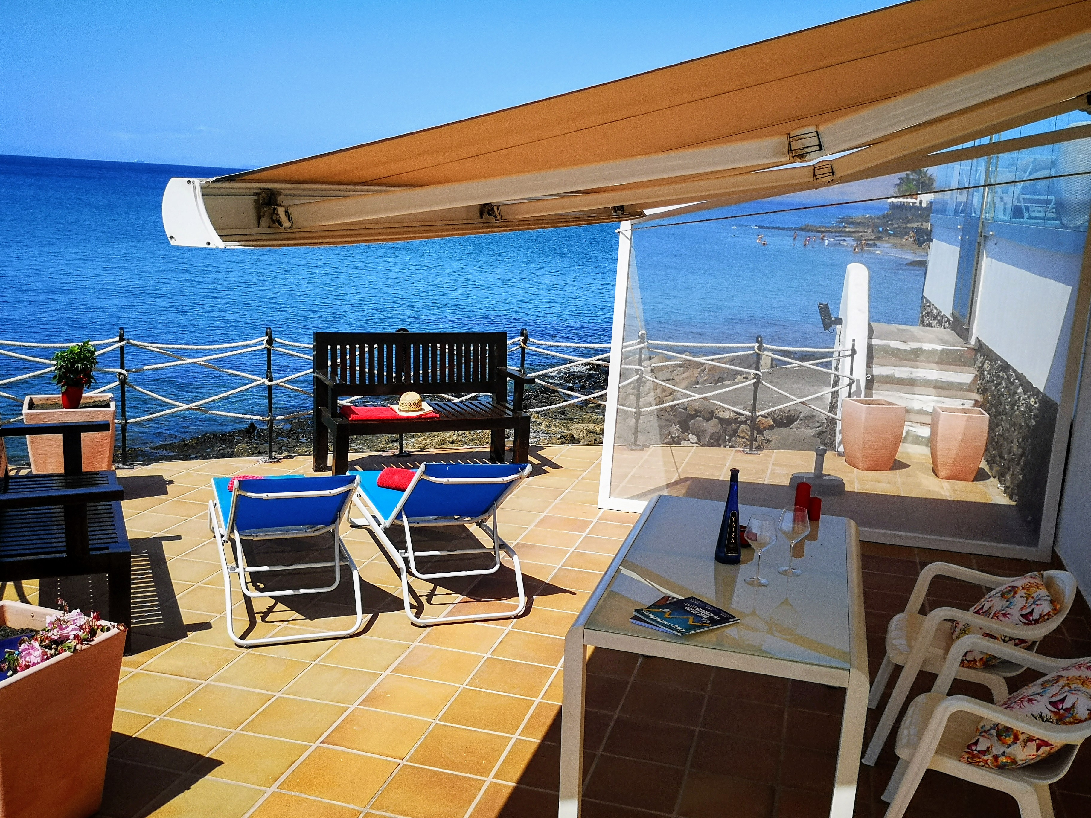 LVC328662 Terrace with front line sea views