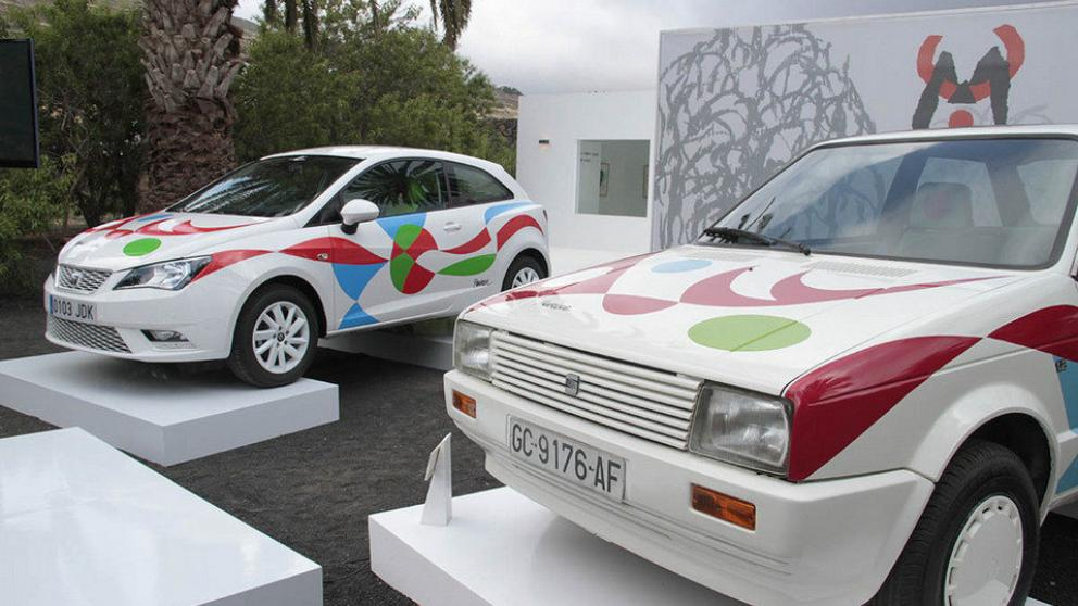 Cesar Manrique design reappears on the Seat Ibiza | Lanzarote Villa Choice