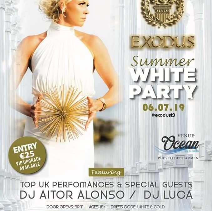 Exodus Summer White Party