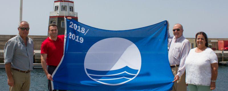 Blue Flag Awarded to Puerto Calero Marina