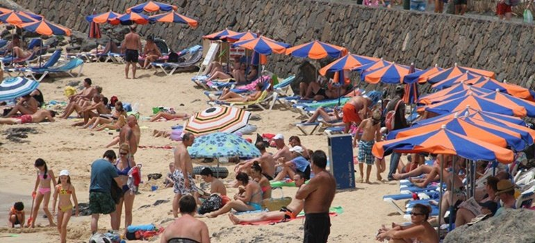 June 2019 sees a rise in tourists in Lanzarote