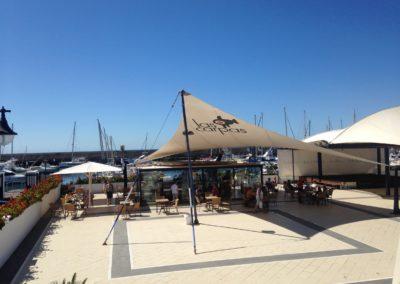 Cafe Bar At Puerto Calero