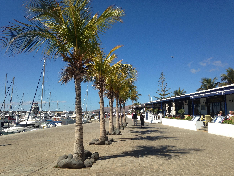 Puerto Calero Promenade
