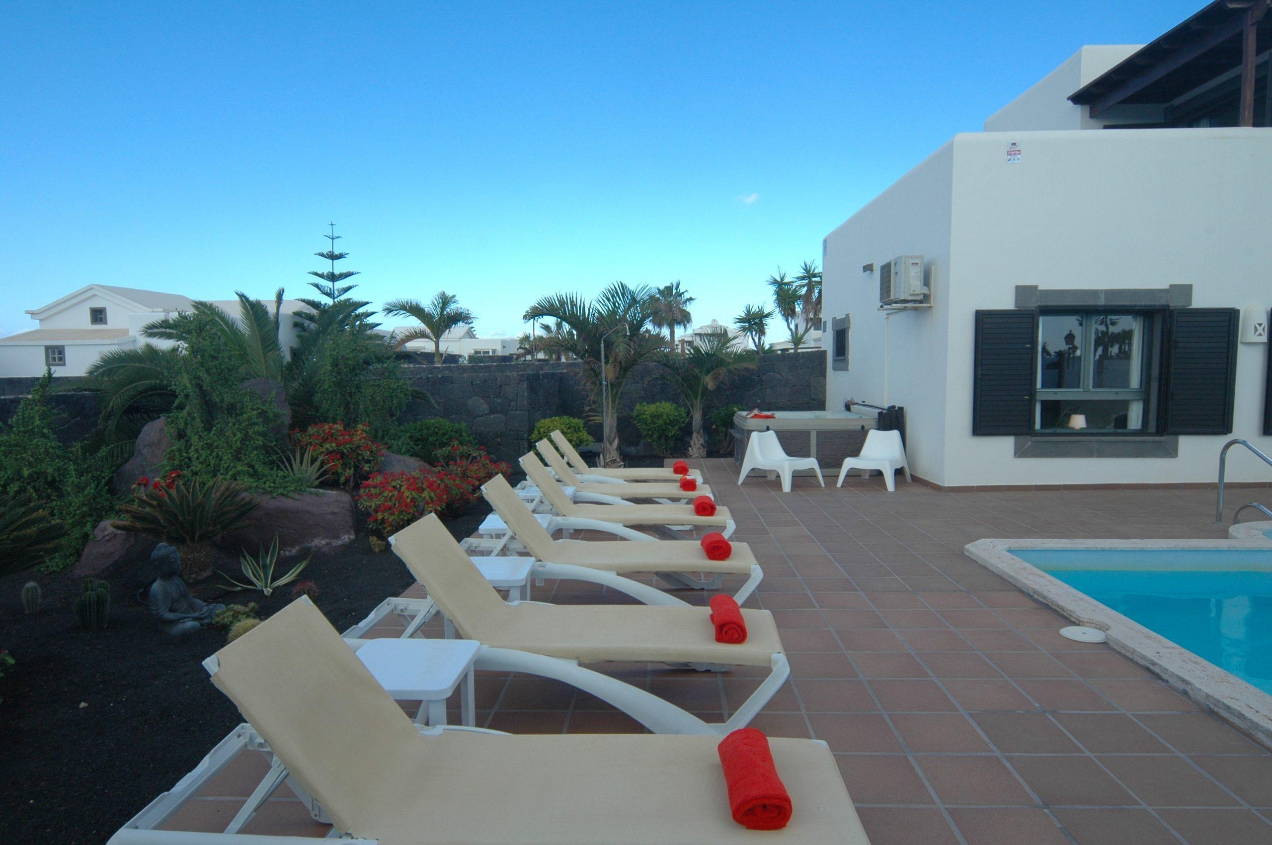 Villa_LVC338912 - Playa Blanca Villa with pool and hot tub