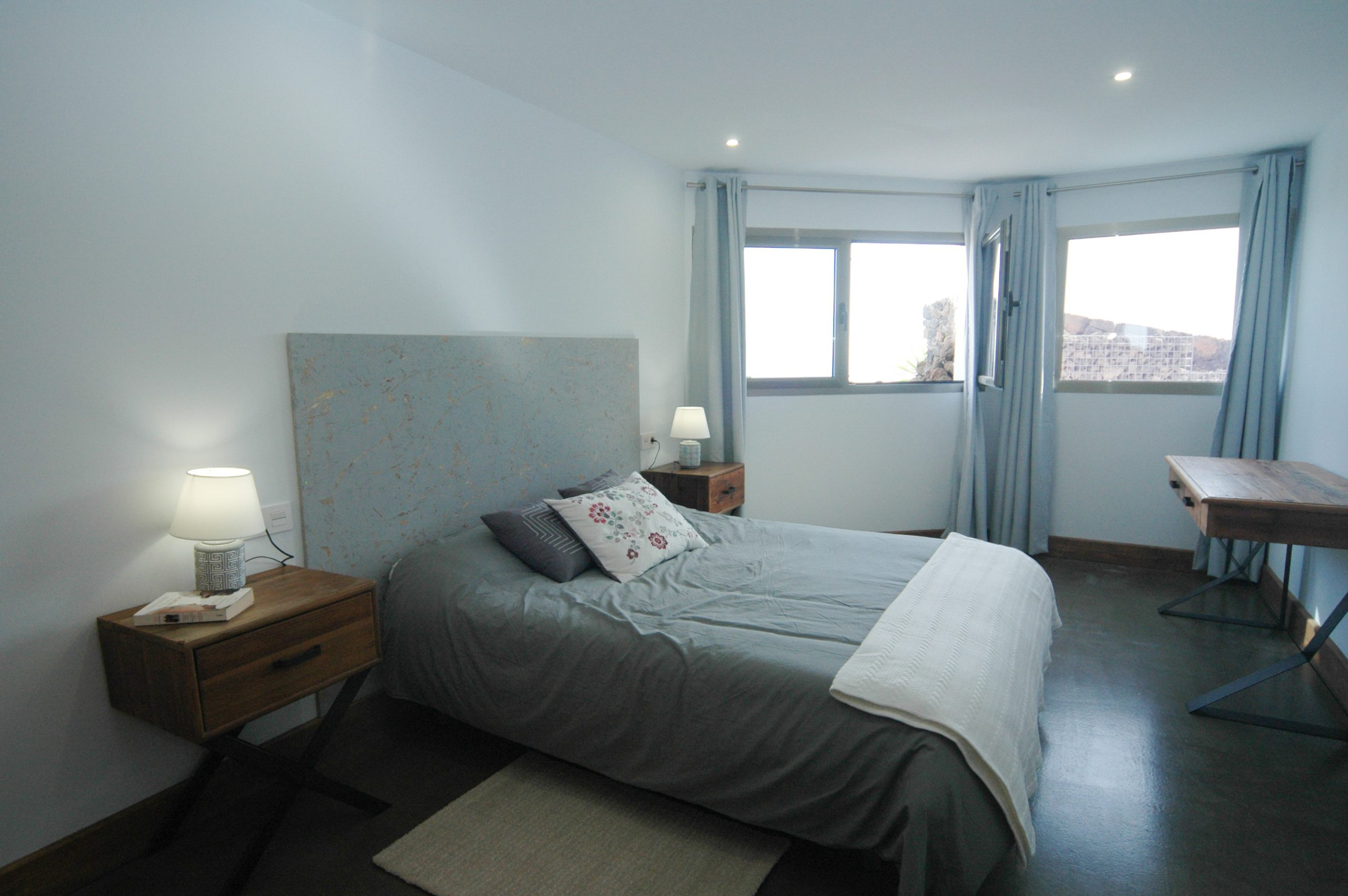 LVC339887 Bedroom with double bed and great views