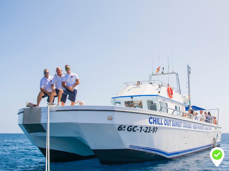 Katfish cruise Lanzarote Puerto Calero