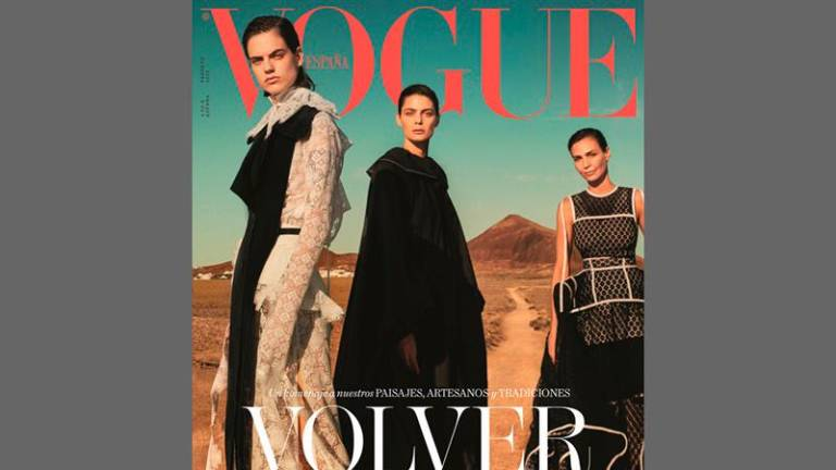 Lanzarote Features in the February 2020 edition of Vogue