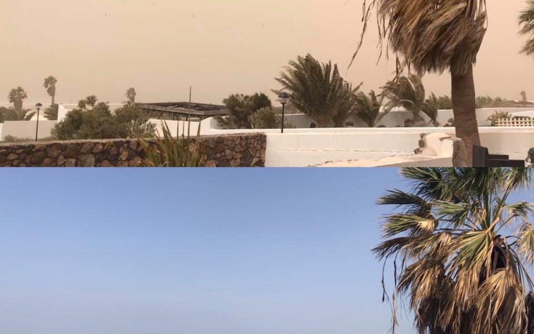 Calima Sandstorm