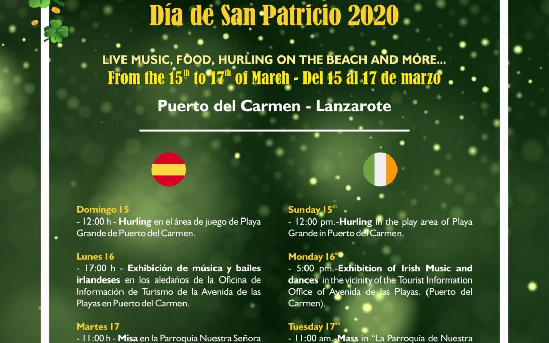 St Patricks Day 2020 Lanzarote