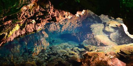 El Covon Caves in Lanzarote