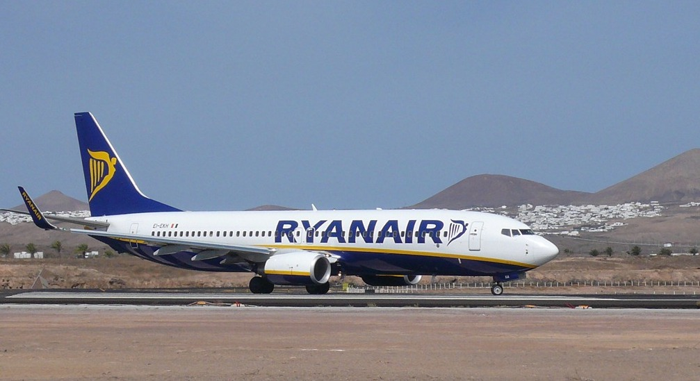 Lanzarote Airport Starts Flight Program with Ryanair