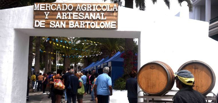 The Agricultural and Craft Market of San Bartolomé