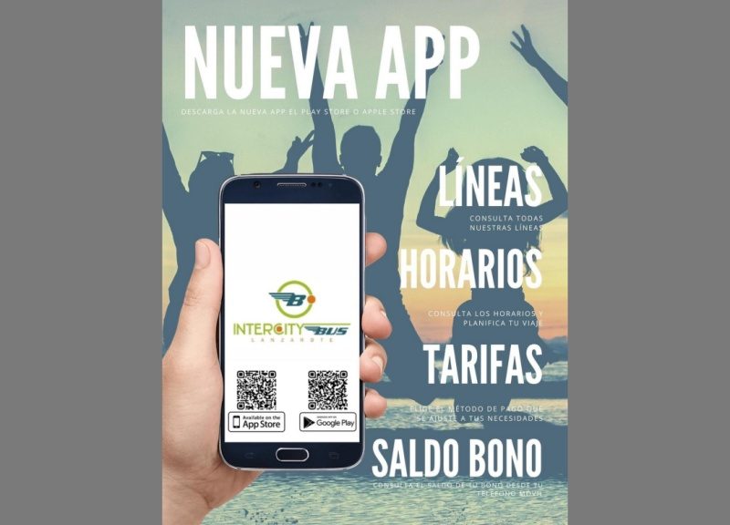 New public transport app in Lanzarote