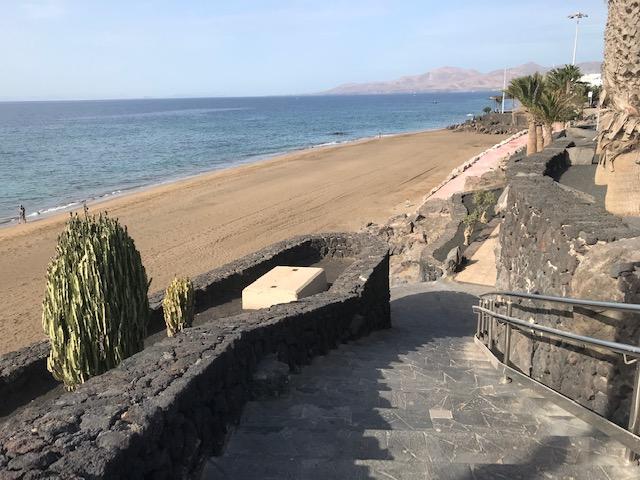 Improvements to Playa Grande in Puerto del Carmen