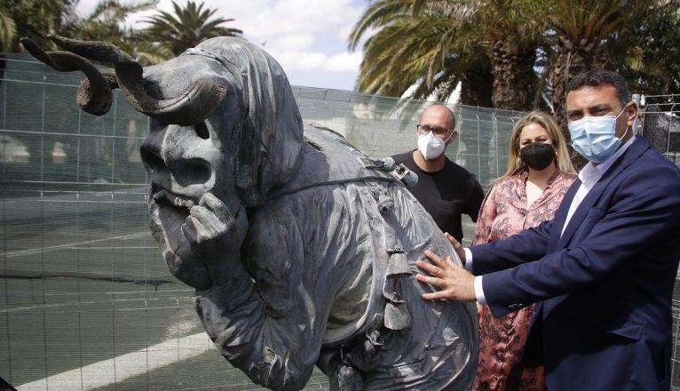 Teguise restores sculptures