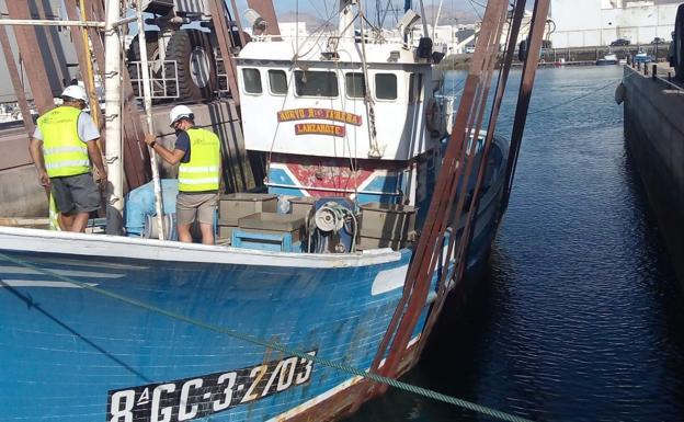 Historic Lanzarote Tuna Vessel Saved