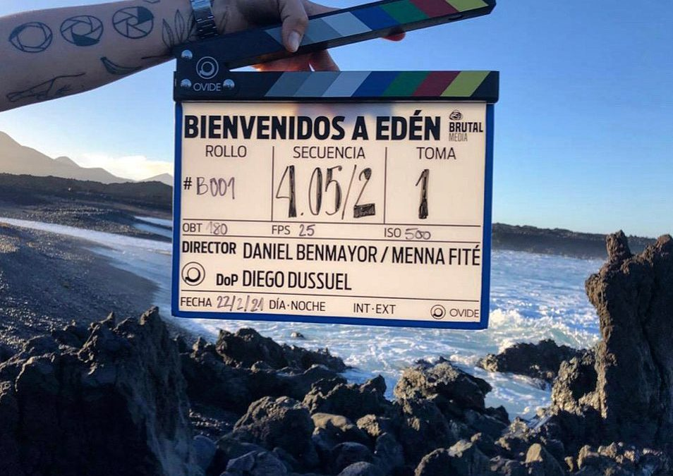 More filming in Lanzarote