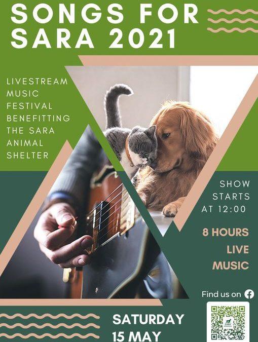 """Online Musical Fundraiser """"Songs for Sara"""""""