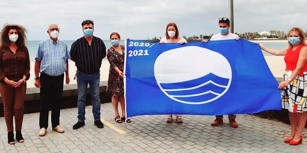 Blue Flag Award given to Lanzarote Beaches