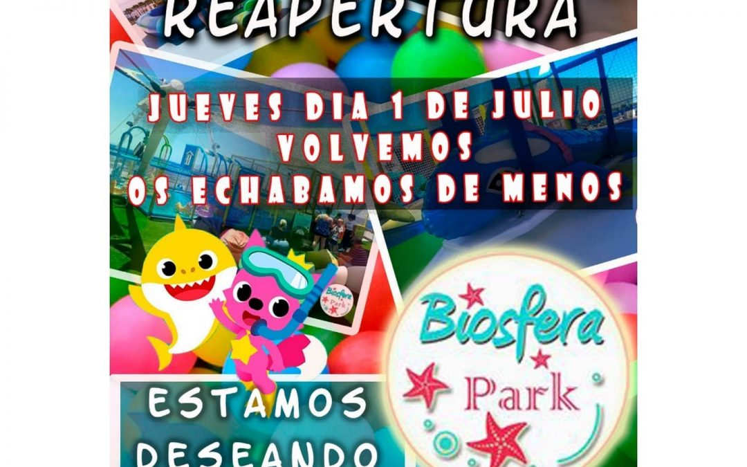 Park at Biosfera to re open