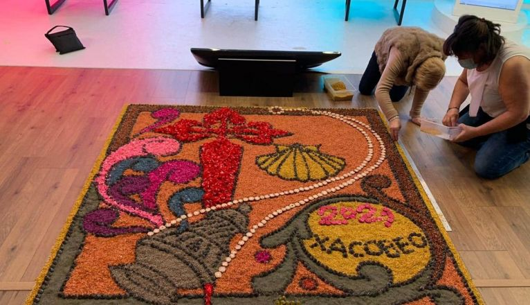 Teguise Joins world carpet of Xacobeo 2021