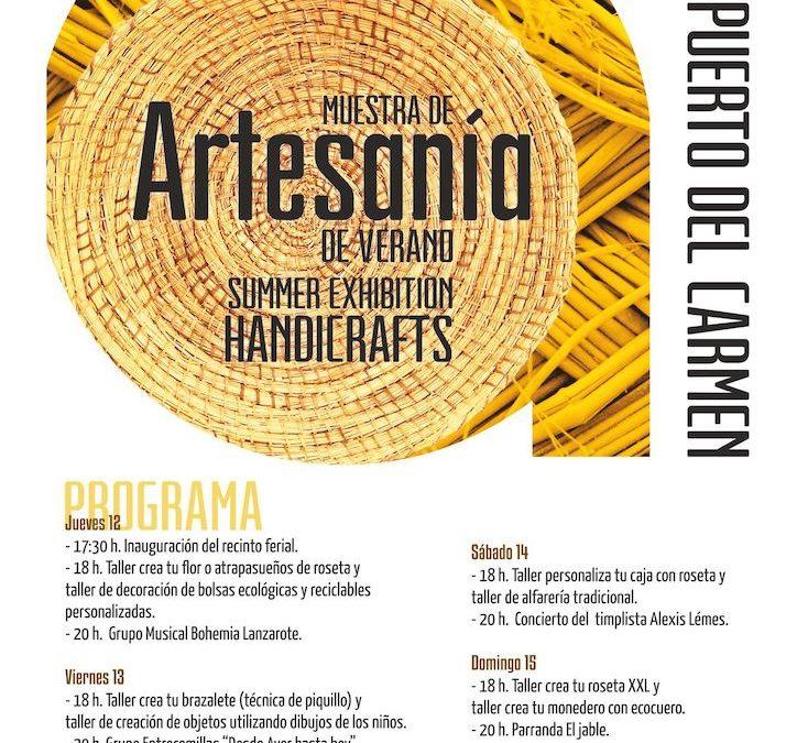 Handcraft Exhibition in Puerto del Carmen