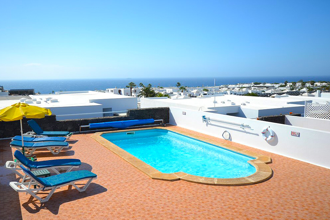 LVC198986 Holiday Villa in Puerto del Carmen with private pool and sea views