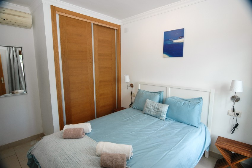 Villa LVC202786 Double bedroom with fitted wardrobes