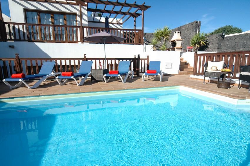 Villa LVC202786 4 Bedroom holiday rental Lanzarote