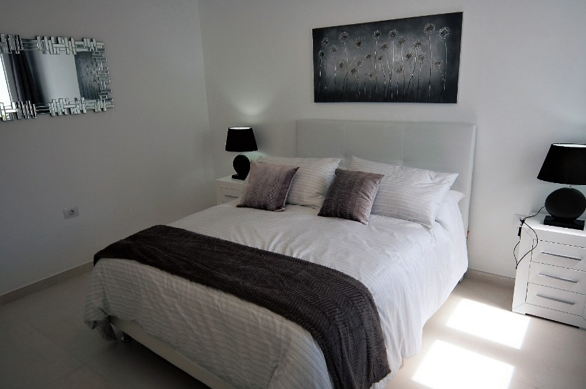 Villa LVC222099 - Downstairs bedroom with king size bed and air conditioning