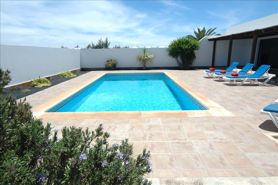 LVC227855 Relax round the pool on your Lanzarote holiday
