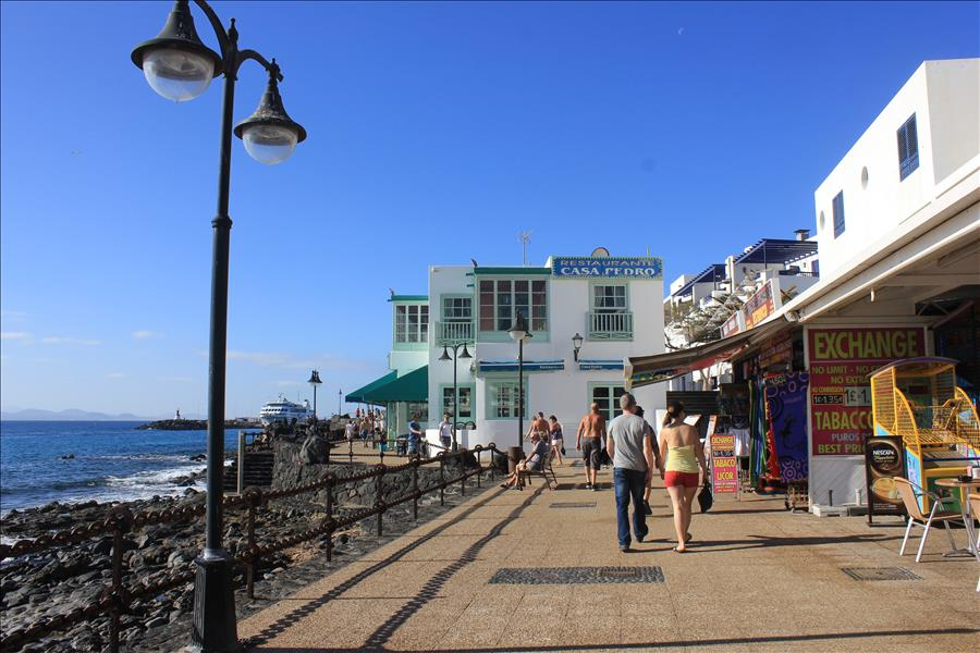 Playa Blanca Town Centre Promenade