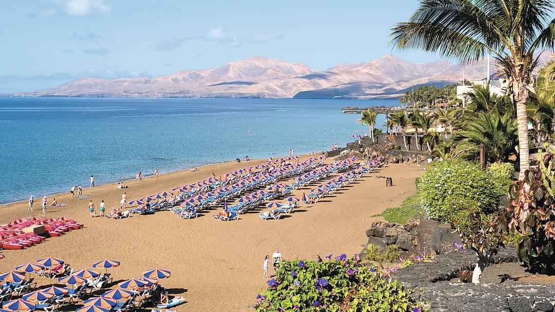 Beach in Puerto del Carmen