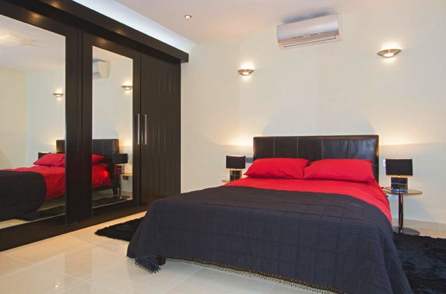 Villa LVC240861 Double bedroom with air conditioning