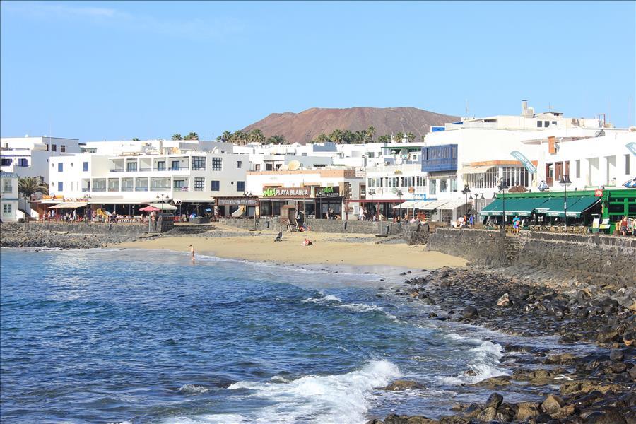 Playa Blanca old town beach