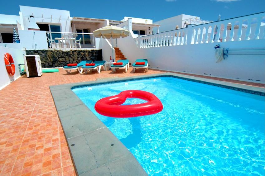 Villa LVC265759 in central Puerto del Carmen with private pool and sea views