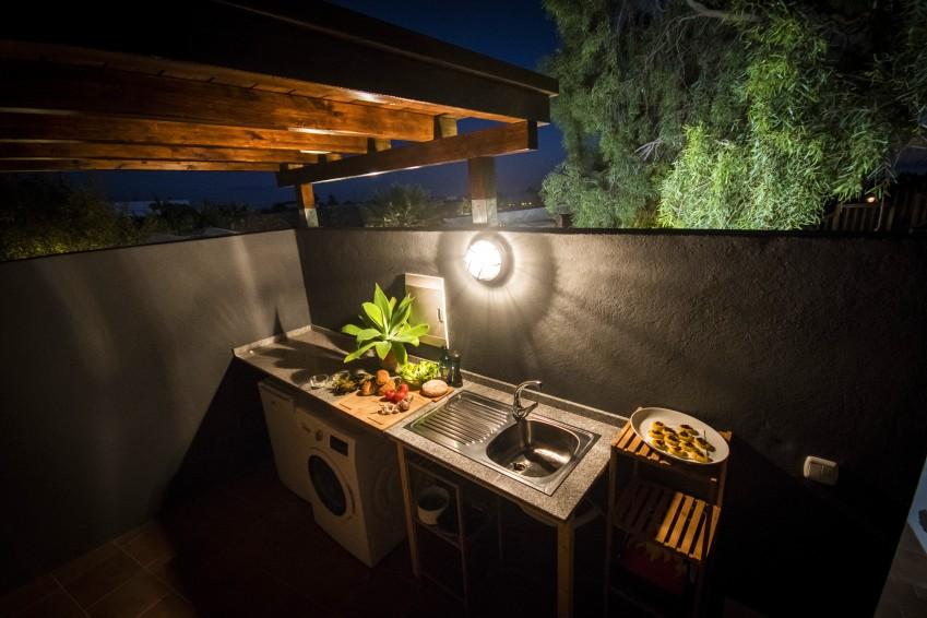 Villa LVC275611 Utility and outside kitchen