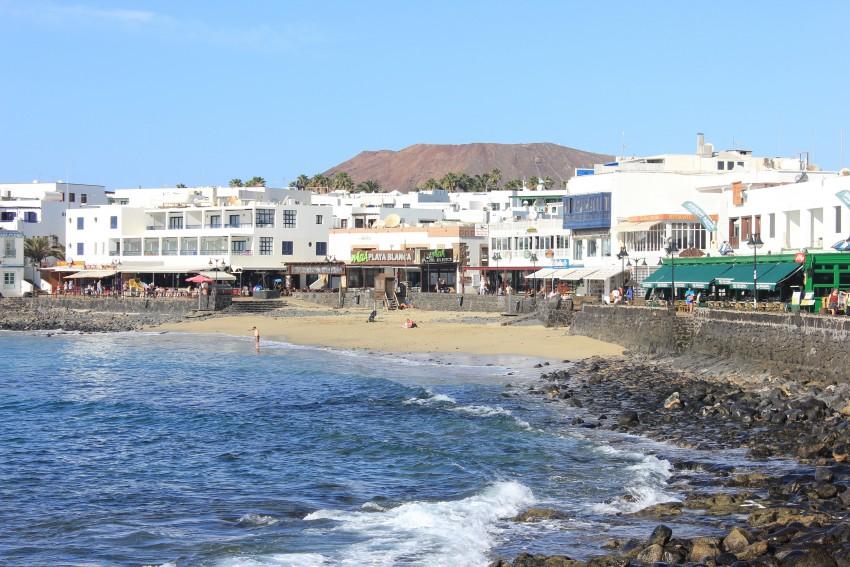 Old town Playa Blanca